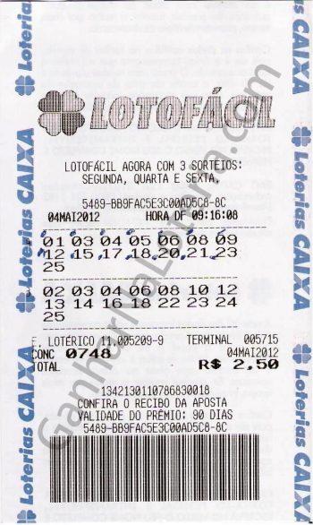 Bilhete Premiado Mega Sena Conc. 1555  –  R$16.352,70