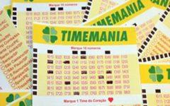 TimeMania Acumulada em R$20 Milhões.