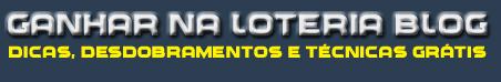 Blog Como Ganhar na Loteria | Dicas Grátis Para Mega Sena, Lotofácil, Lotomania, Quina, Dupla Sena, TimeMania, Loteca, Lotogol e muito mais