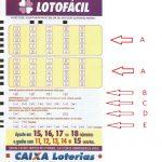 Novo Sistema Loteria Lotofácil