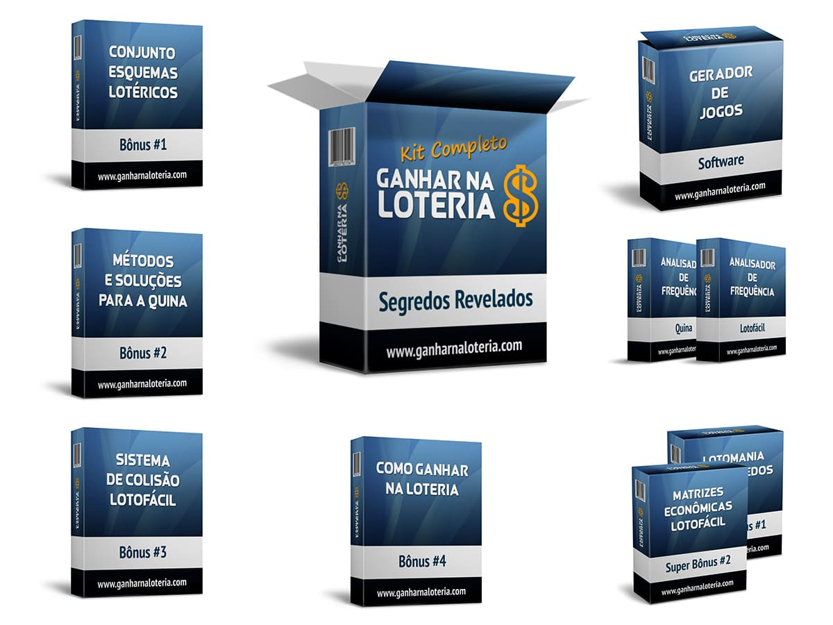 Kit Ganhar na Loteria - Segredos Revelados