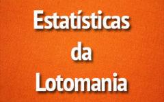 Principais Estatísticas da Lotomania