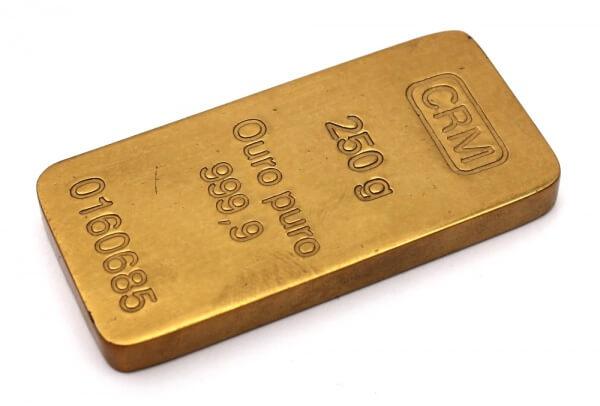 Certificado de Barra de Ouro