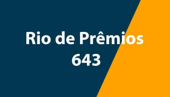 Resultado Rio de Prêmios 643 – Sorteio de 03/11/2019