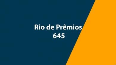 Rio de Prêmios 645