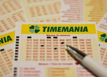 Números Mais Sorteados na Timemania