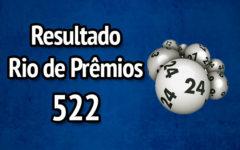 Resultado Rio de Prêmios 522 – Sorteio de 09/07/2017