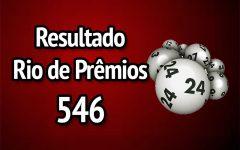 Resultado Rio de Prêmios 546 – Sorteio de 24/12/2017