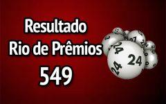 Resultado Rio de Prêmios 549 – Sorteio de 14/01/2018