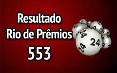 Resultado Rio de Prêmios 553 – Sorteio de 11/02/2018