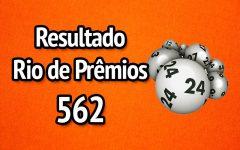 Resultado Rio de Prêmios 562 – Sorteio de 15/04/2018