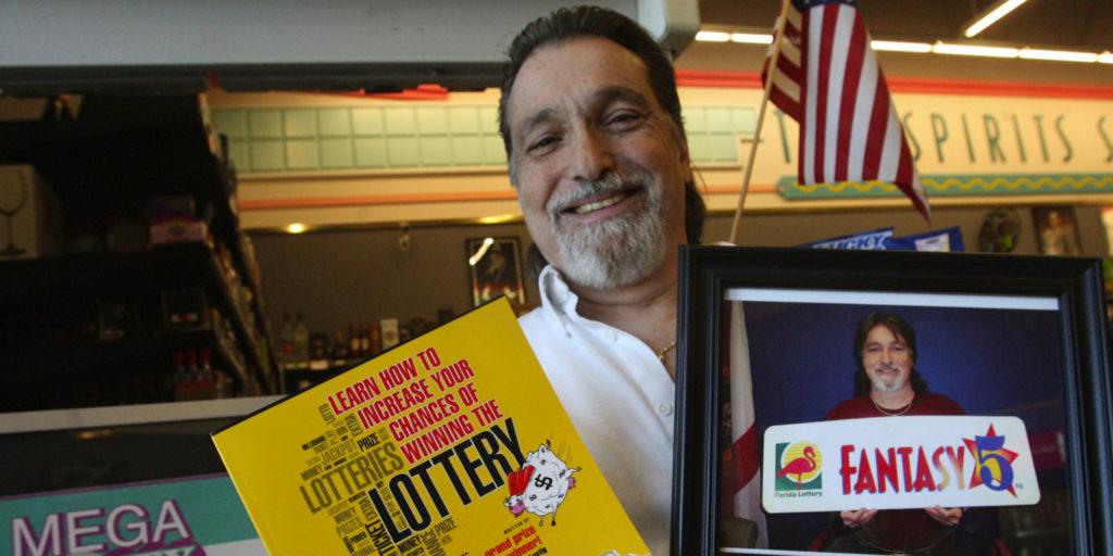 Richard Lusting ganhou 7 vezes o prêmio principal na loteria americana